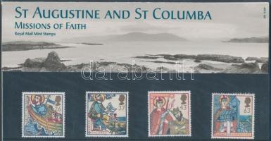 1997 Misszionáriusok Nagy-Britanniában sor Mi 1684-1687 díszcsomagolásban