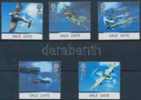 1997 Repülőgép tervezők ívszéli sor Mi 1696-1700