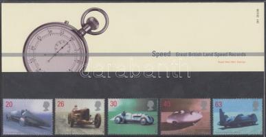 1998 Járművek sor Mi 1767-1771 díszcsomagolásban