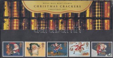 1997 Karácsony sor Mi 1714-1718 díszcsomagolásban