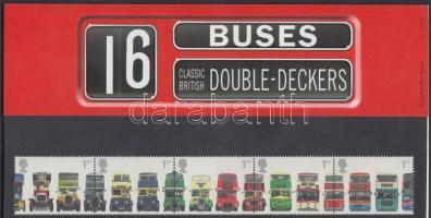 2001 Emeletes buszok ötöscsík Mi 1933-1937 díszcsomagolásban