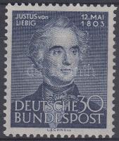 1953 Justus von Liebig, kémikus és természettudós születésének 150. évfordulója Mi 166