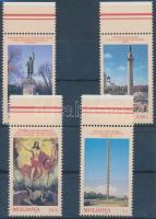 1998 Műalkotások ívszéli sor Mi 271-274