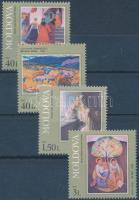 2002 Festmények sor Mi 425-428