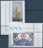 2003 Harc a terror ellen: festmények ívsarki sor Mi 472-473