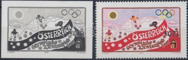 2002 Téli Olimpia, Salt Lake City bélyeg + feketenyomat Mi 2369