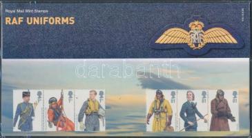 2008 A Királyi Légierő egyenruhái 2 db hármascsík Mi 2668-2673 díszcsomagolásban