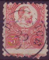 1871. Réznyomat 5kr / Mi. 10 DELNICE