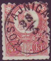1871. Réznyomat 5kr (tompa fogak) KOSTAJNICA