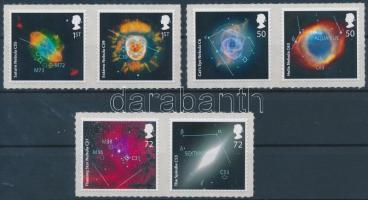 2007 Csillagászat öntapadós sor párokban Mi 2490-2495