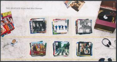 2007 The Beatles öntapadós sor Mi 2474-2479 díszcsomagolásban
