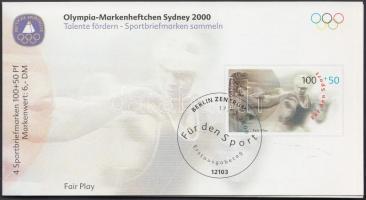 Summer Olympics, Sydney 3 stamp-booklets, Nyári Olimpia, Sydney 3 db bélyegfüzet