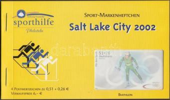 2002 Téli Olimpia 4 db bélyegfüzet Mi 2237-2240