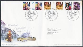 2008 Karácsony sor Mi 2686-2691 FDC-n