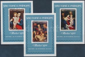 Karácsony: Rubens festmények blokksor, Christmas: Rubens paintings blockset