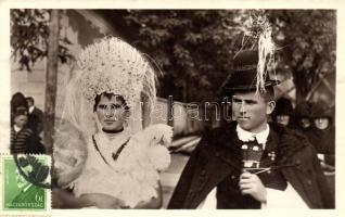 Mezőkövesdi népviselet, Hungarian folklore from Mezőkövesd