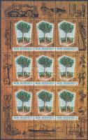 Kauri Pine minisheet (English edition) Kauri fenyő kisív (angol kiadás)