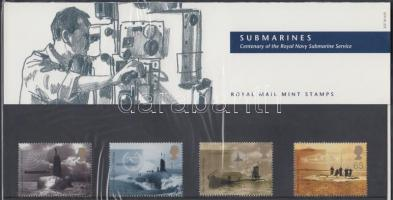 2001 100 éves a tengeralattjáró-hadosztály sor Mi 1928-1931 díszcsomagolásban