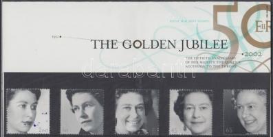 2002 II Erzsébet sor Mi 1981Y-1985Y díszcsomagolásban
