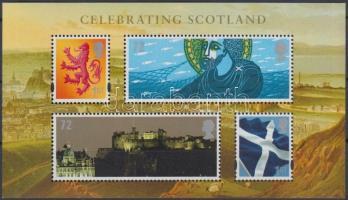 Skócia 2006 Nemzeti ünnep blokk Mi 2