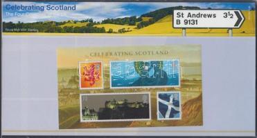 Skócia 2006 Nemzeti ünnep blokk Mi 2 díszcsomagolásban
