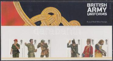 2007 Katonai egyenruhák 2 db hármascsík Mi 2568-2573 díszcsomagolásban