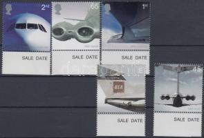 2002 Szállítás (II): Kereskedelmi használatú sugárhajtású repülőgépek ívszéli sor Mi 2012-2016