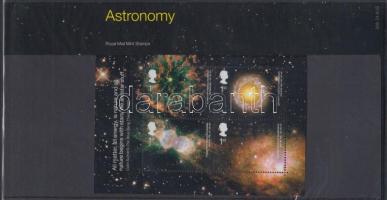 2002 Csillagászat blokk Mi 15 díszcsomagolásban