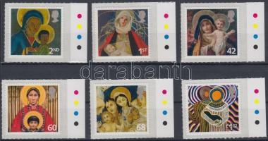 2005 Karácsony öntapadós ívszéli sor Mi 2360-2365