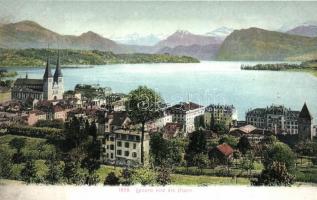 Lucerne, Luzern; Alpen