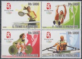 Summer Olympic Games, Beijing block of 4, Nyári Olimpiai Játékok, Peking négyestömb