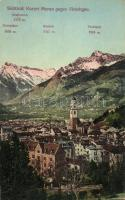 Merano, Meran; Vinschgau, Zielspitze, Roteck, Tschigat