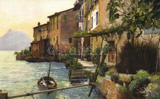 Gandria, Lake Lugano, Serie 193. Nr. 3299.