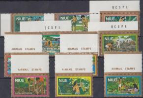 1979 Forgalmi: gazdaság sor (ívszéli + ívsarki bélyegek) Mi 224-233