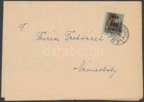 1946 (7.díjszabás) Nyomtatvány Betűs (II) HL.2/40f bérmentesítéssel