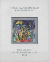 Austrian painting collections block, Osztrák gyűjtemény festményei blokk