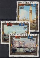1972 Velence megmentésért, festmények Mi 311-313