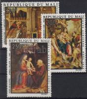1979 Karácsony, festmények Mi 411-413