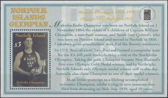 2000 Nemzetközi bélyegkiállítás OLYMPHILEX 2000 blokk Mi 36