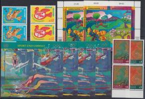 1996-1997 8 diff. stamps + 6 diff. blocks, 1996-1997 8 db bélyeg + 6 db blokk