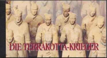 World heritage, Chinese clay soldiers stampbooklet, Világörökség, kínai agyagkatonák bélyegfüzet