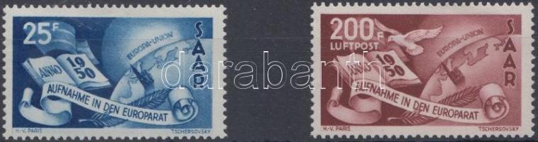 1950 Európa Tanács sor Mi 297-298