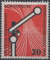 1955 Európai Menetrend Konferencia Mi 219