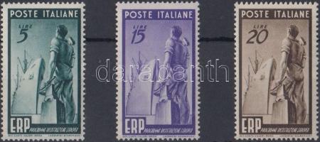 1949 Újjáépítés, Marshall-terv sor Mi 774-776