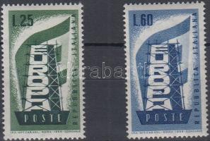 1956 Europa CEPT sor Mi 973-974