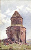 Ani, ruines, artist signed