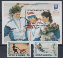 1993 Téli Olimpia, Lillehammer sor Mi 1847-1848 + blokk 264