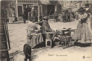 Naples, Napoli; street, folklore