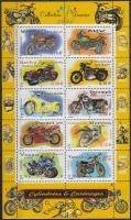 2002 Motorok kisív Mi 3645-3654