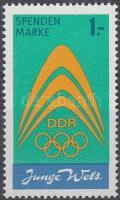 1971 Spendenmarke: Ki nem adott bélyeg Mi I